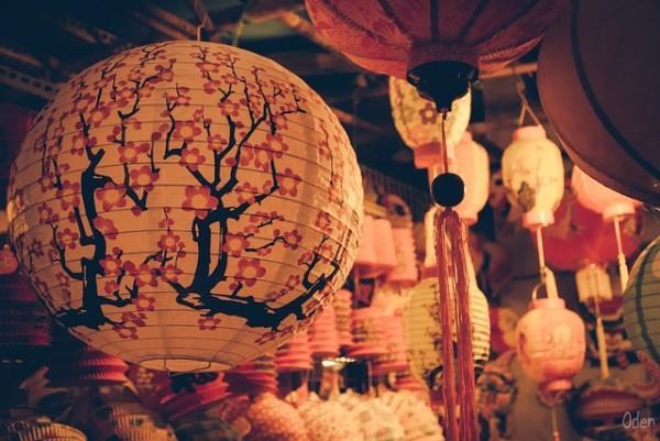 Lanterne décorée à l'occasion de la Fête de la Lune. (Image : Pixabay/CC0 Public Domain)