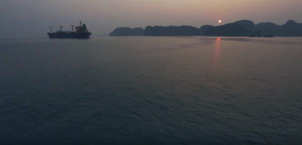 La magnifique baie d'Halong, au Vietnam. (Capture d'écran/ Youtube)