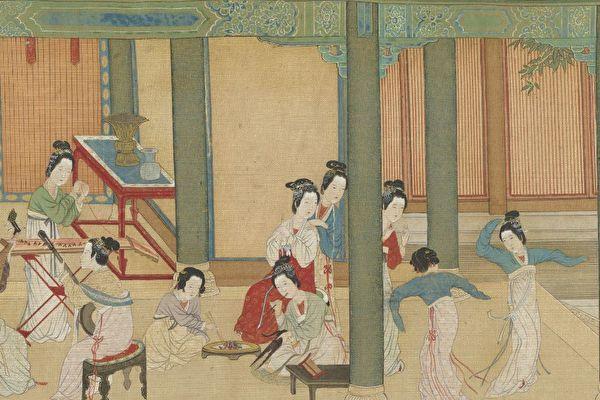 Un tableau de maître : Matin de printemps au palais Han