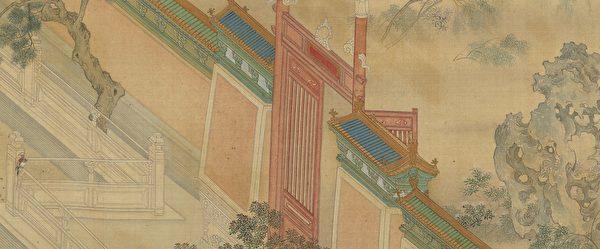 Un tableau de maître à apprécier: Matin de printemps au palais Han