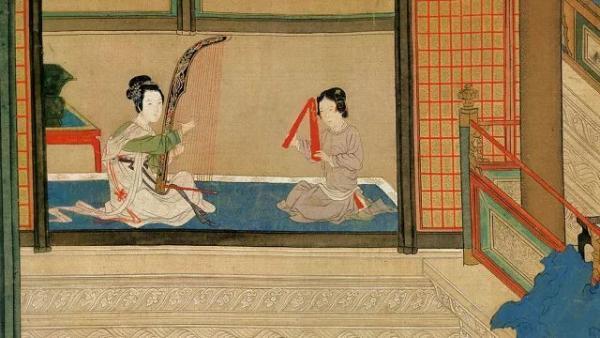 Un tableau de maître à apprécier : Matin de printemps au palais Han