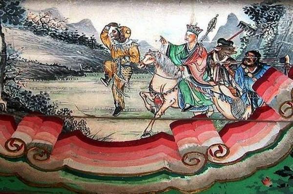 La Pérégrination vers l'Ouest est un roman mythologique basé sur le véritable voyage entrepris par un moine pendant la dynastie Tang. Il avait pour objectif de récupérer les écritures bouddhistes d'Inde et les ramener en Chine. (Shizhao/Wikipédia)