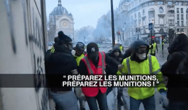 Selon le syndicat de police France Police - policiers en colère, 80% des casseurs présents dans les manifestations des Gilets jaunes sont d'extrême gauche.