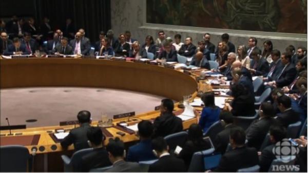 Pékin a clairement montré qu' il utilisera son droit de veto à l'ONU pour bloquer tout ce qui, à son avis, va à l'encontre de ses intérêts, même si cela signifie protéger un terroriste. (Image: Capture d'écran / YouTube)