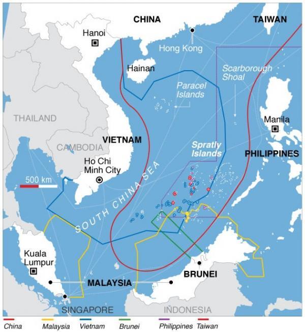 Mer de Chine du Sud (Image: wikimedia)