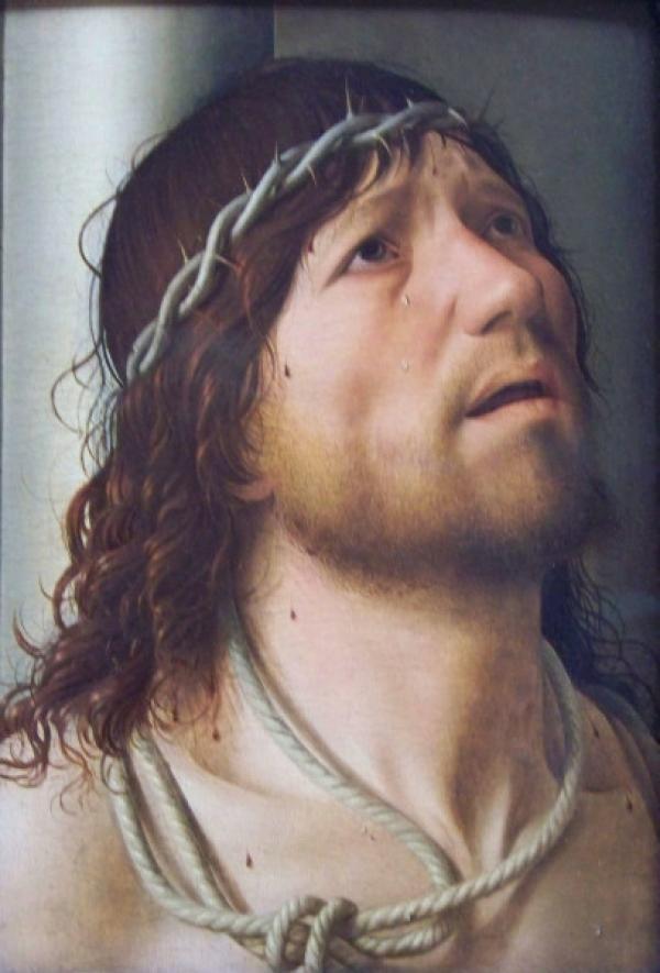 """Le Christ à la colonne"" d'Antonello da Messina. (Image: Rodney via flickr CC BY 2.0 )"