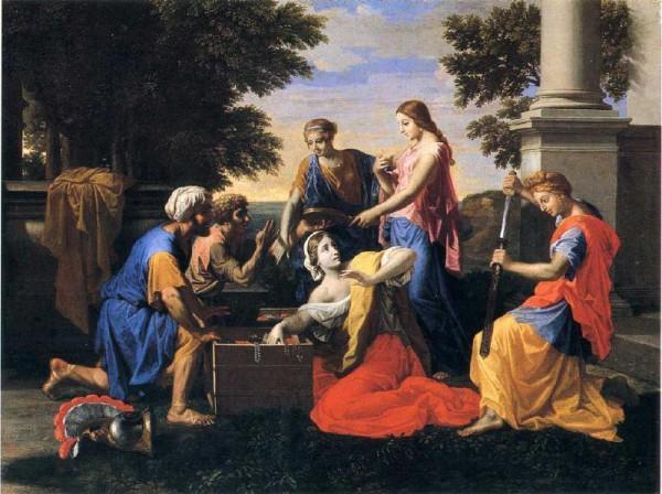 «Achille et les filles de Lycomède» de Nicolas Poussin.(Image : cea via flickr CC BY 2.0 )