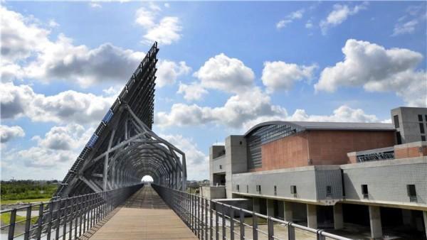 La structure du Musée national d'histoire de Taïwan est unique et très impressionnante. (Image: Musée national d'histoire de Taïwan)