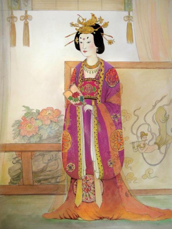 L'impératrice Zhangsun, (VIIe siècle ap. J.-C.), est le parfait exemple de la femme chinoise traditionnelle. (Image : Taste of Life)