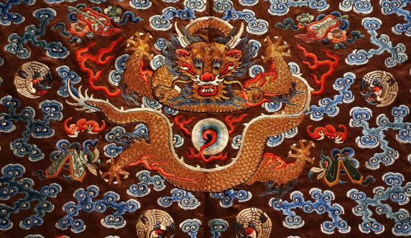 Une robe impériale de la dynastie Qing. (Image: Wikimedia)