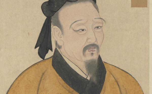 Min Sun, également connu sous le nom de Min Ziqian, était l'un des disciples préférés de Confucius, et l'un des plus proéminents, connu pour sa piété filiale. (Image : Wikimedia)