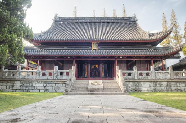 Le temple de Confucius à Jiading, Chine. (Image: wikipedia)