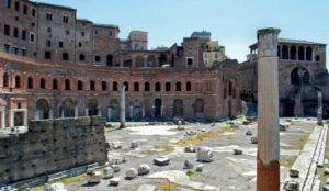 Les Romains ont peut-être eu recours à la technologie des métamatériaux lors de la construction de bâtiments importants pour les protéger des séismes. (Image : Pixabay)