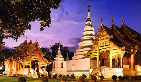 Le Temple Wat Phra-Singh à Chiang Mai, Thaïlande. (Image: Art Roopyai via Wikimedia CC BY-SA 3.0)