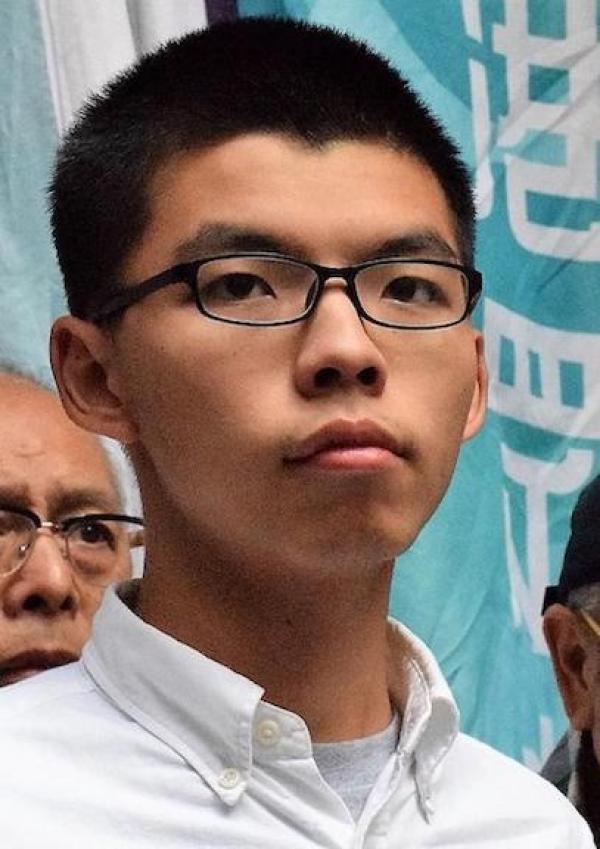 Joshua Wong est une figure emblématique de la résistance hongkongaise pour la défense des valeurs démocratiques dans l'île de Hong Kong. (VOA)