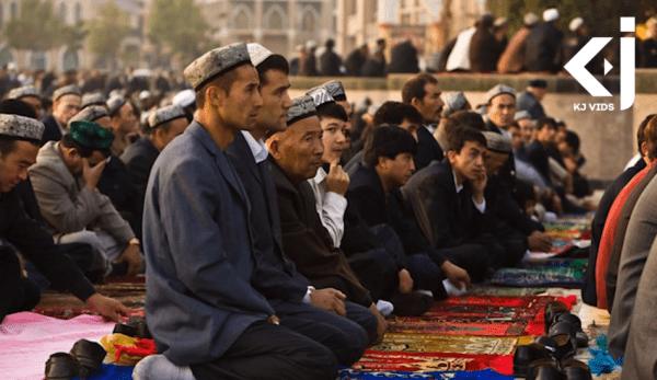 La question de savoir comment la Chine traite sa population minoritaire ouïghoure dans la région du Xinjiang a provoqué une division entre les États membres de l'ONU. (Image : Capture d'écran / YouTube)