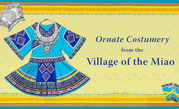 Les Miao ont en réalité plus de 100 styles différents de vêtements ethniques, et chaque femme aurait créé son propre costume à la main (Image: Shen Yun)