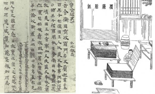 La première pâte à papier a été fabriquée au cours du IIe siècle, à l'époque de la Dynastie chinoise des Han (Image: Shenyunperformingarts.org)