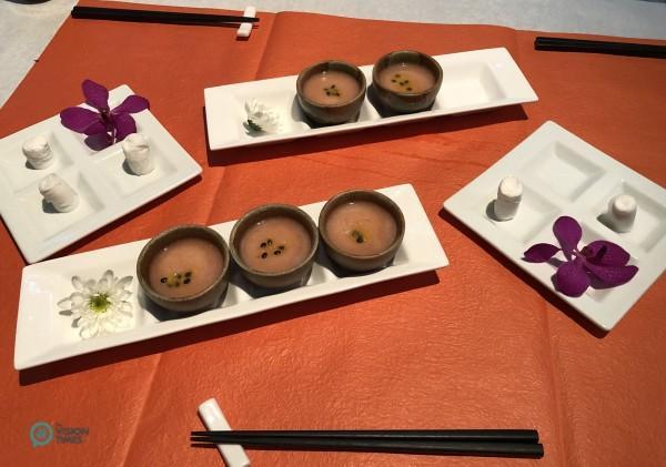 La nourriture de Shi Yang Shan Fang est un régal aussi bien pour les yeux que pour le palais. (Image : Julia Fu / Vision Times)