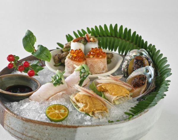 Tous les plats servis au restaurant sont joliment arrangés et garnis. (Image : Avec l'aimable autorisation du Shi Yang Shan Fang)