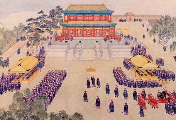 Le festin de l'Empereur organisé dans le palais de la Cité interdite (Image: Shenyunperformingarts.org)