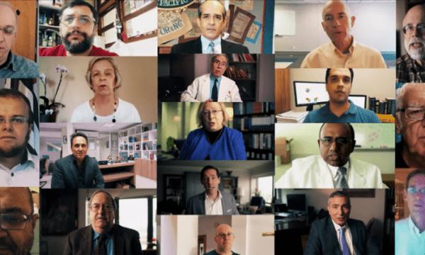 Dans cette capture d'écran d'une vidéo du Discovery Institute, les scientifiques expriment leur scepticisme quant à la théorie de l'évolution de Darwin. (Capture / Discovery Institute)