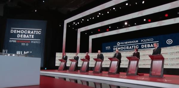 La Chine a interrompu la retransmission du débat démocrate américain peu après qu'ils aient commencé à parler des violations des droits de l'homme dans le pays. (Image: YouTube / Capture d'écran)