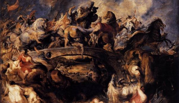 Bataille des Amazones, par Peter Paul Rubens, 1618. (Image: wikimedia / CC0 1.0)