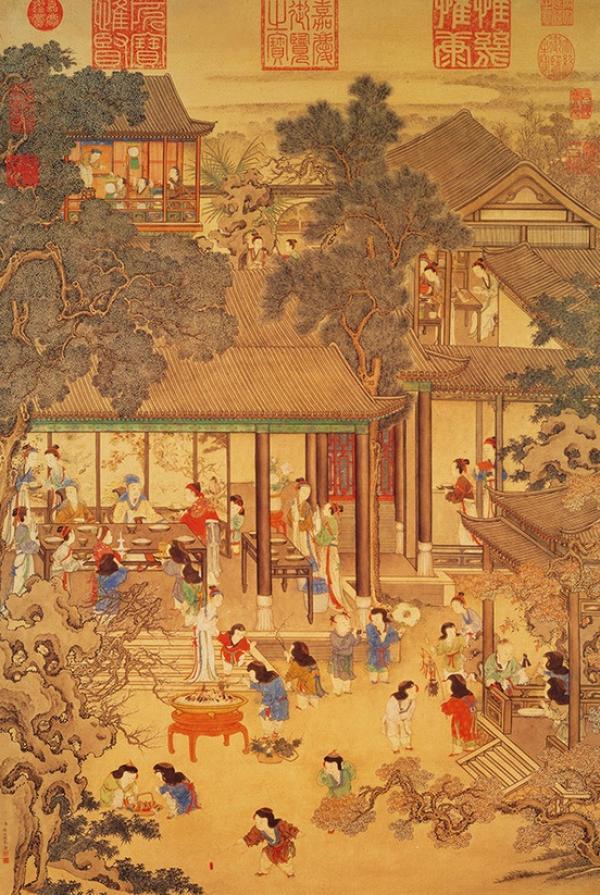 Représentation du Nouvel an chinois de Yao Wenhan dans la Chine du XVIIIe siècle (Shenyunperformingarts.org)