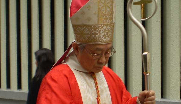 Le cardinal Joseph Zen de l'Église catholique de Hong Kong. (Image: Rock Li via wikimedia CC BY-SA 3.0)