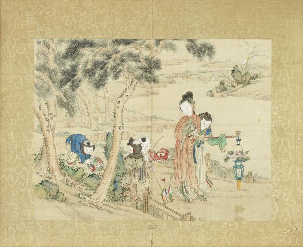 Plaisir dans une ère de paix. (Dynastie Qing / domaine public)