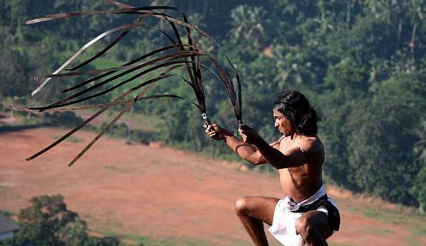 L'urumi est une arme flexible, semblable à un fouet. (Image :Angampora/wikimedia /CC BY-SA 3.0)