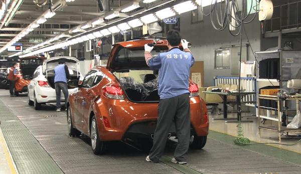 Hyundai a fermé des usines en Corée du Sud en raison de perturbations dans la chaîne d'approvisionnement mondiale. (Image : Capture d'écran /YouTube)