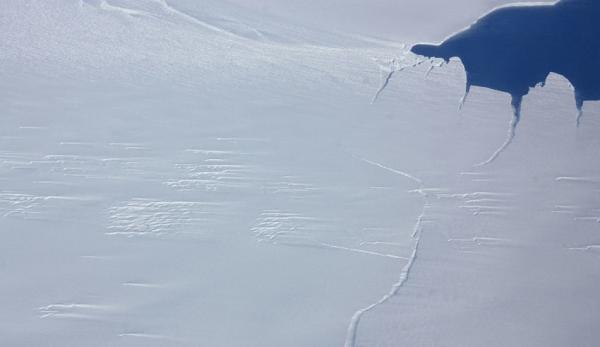 Le glacier de Pine Island est répertorié comme l'un des glaciers de l'Antarctique qui rétrécit le plus rapidement. (Image : wikimedia/CC0 1.0)