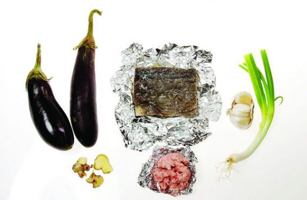 Recette: Cassolette aux aubergines