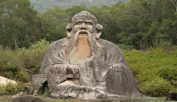 Lao Tseu est l'auteur du Tao Te Ching. (Image : Tommy Wong / flickr / CC BY 2.0)
