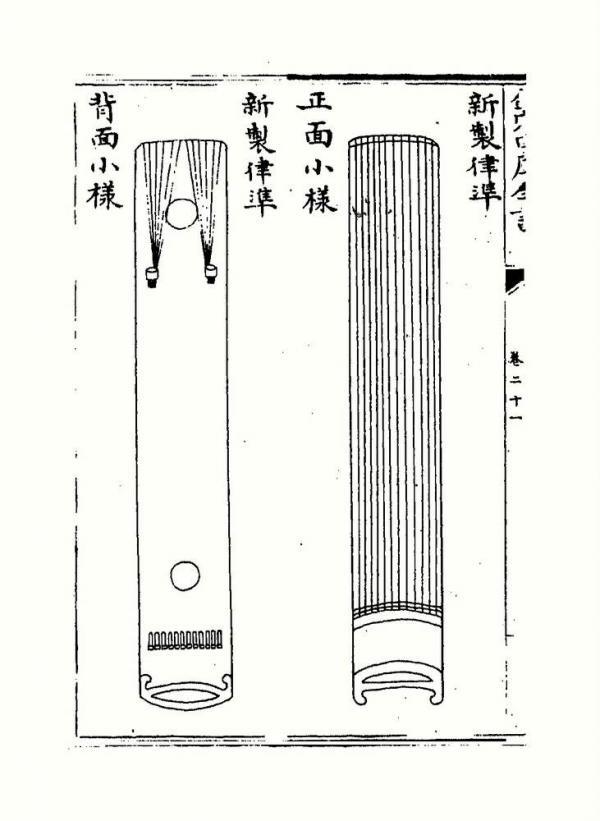 Le tempérament en musique est la tonalité et la loi, la tonalité faisant référence à la fréquence du son en physique. La loi était l'instrument utilisé dans les temps anciens pour corriger la musique. Le tempérament est également appelé loi. (Image : wikimedia / Prince Zhu Zaiyu / Domaine public)
