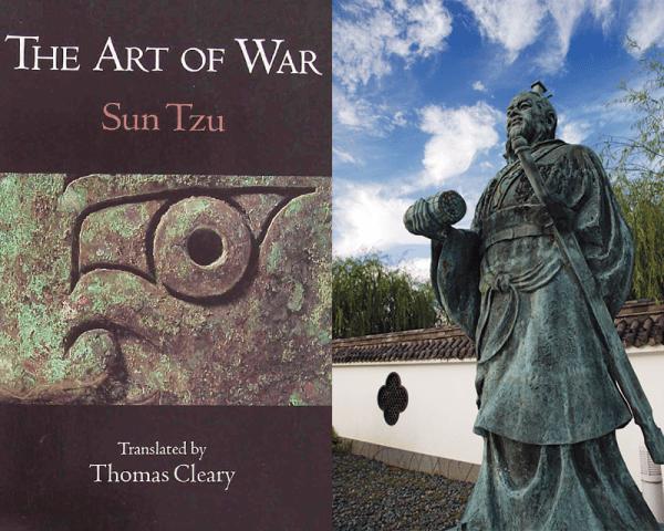 «L'art de la guerre» du général chinois Sun Tzu semble faire référence aux principes de la guerre hybride, il y a déjà plus de 2000 ans. (Image : Composite ofFlickr/663highland/CC BY-SA)