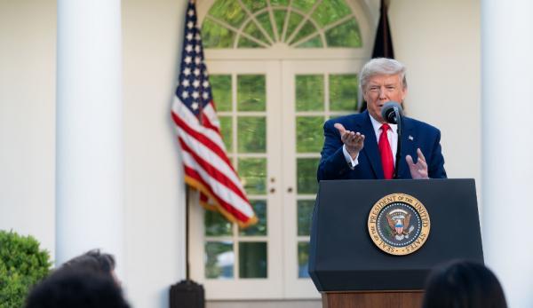 Le président Donald Trump a critiqué l'OMS pour avoir pris le parti de la Chine. (Image :flickr/CC0 1.0)