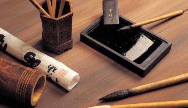 Dans les temps anciens, un érudit chinois détenait «quatre trésors» pour son étude : pierre à encre, papier, encre et pinceau. (Image : capture d'écran / YouTube)