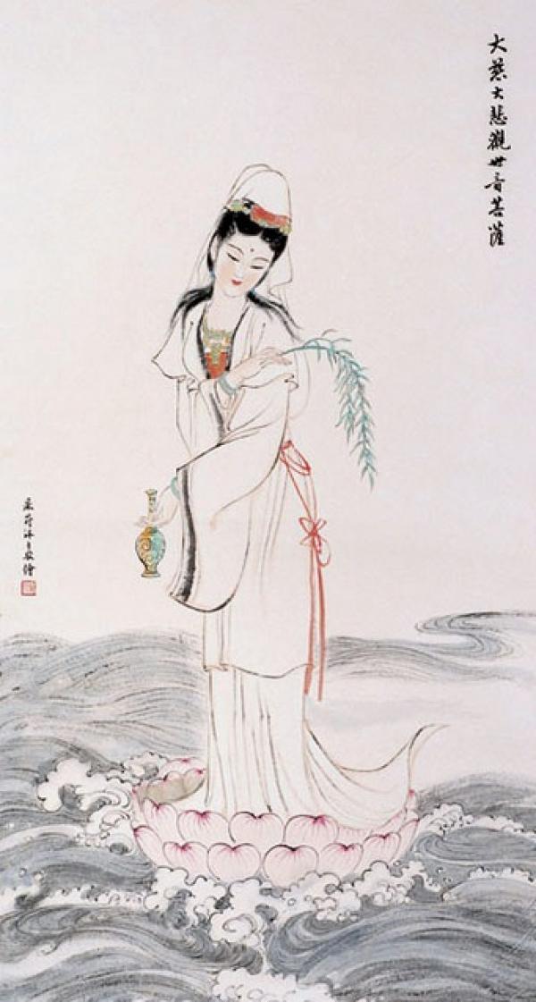 La Bodhisattva Guan Yin. (Image : Shenyunperformingarts.org)