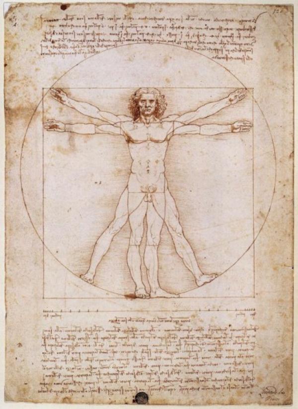 Plusieurs artistes de la Renaissance ont intégré le Nombre d'or dans leurs travaux, Léonard de Vinci fut l'un d'entre eux. (Image :cesar bojorquez/flickr /CC BY 2.0)