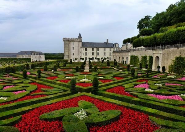 Les Jardins à la Française se sont beaucoup inspirés des Jardins Italiens. Ils ont, ainsi, perfectionné l'art de la taille du buis jusqu'à créer une fine dentelle vue des fenêtres du château. (Image :RENE RAUSCHENBERGER/Pixabay)