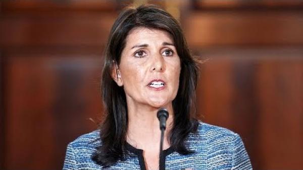 Les États-Unis se sont retirés du Conseil de sécurité de l'ONU en 2018, l'ambassadrice américaine Nikki Haley qualifiant ce retrait de «cloaque de partis pris politiques». (Image : Capture d'écran / YouTube)