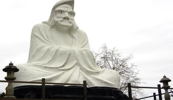 Une statue de Bodhidharma. (Image : tasteful_tn / flickr / CC BY-SA 2.0)