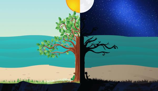 Au cours de la journée, les énergies yin et yang ne cessent d'augmenter et de diminuer. (Image :pixabay/CC0 1.0)