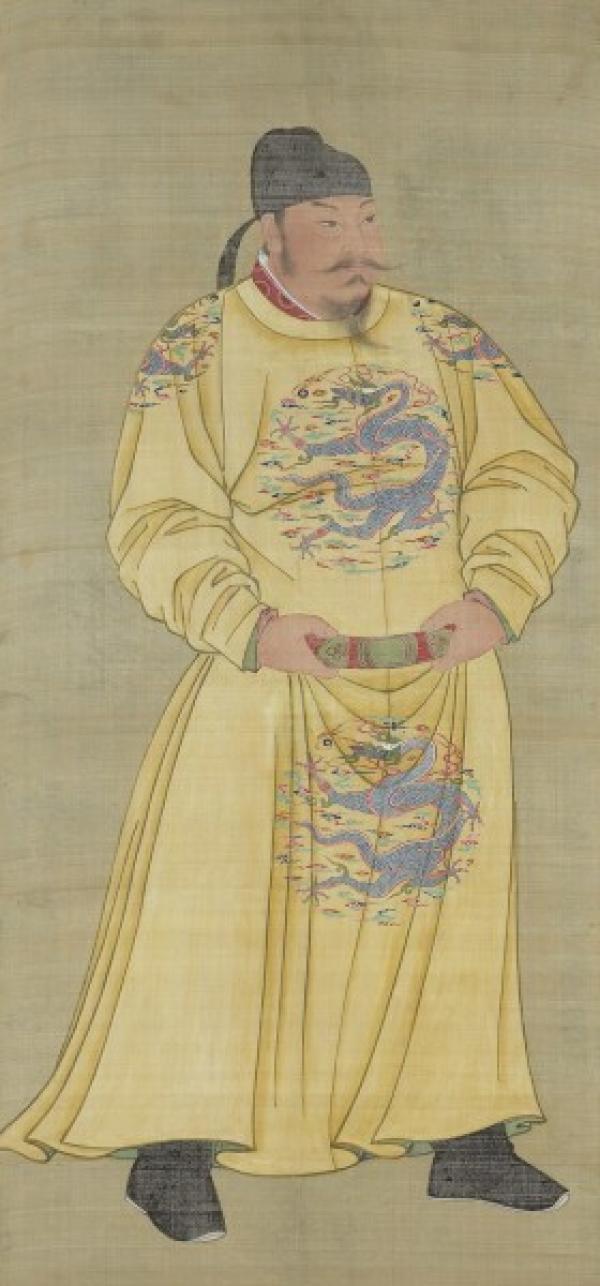 Portrait de Tang Taizong (600 à 649 av. J.-C.). L'empereur le plus vénéré de Chine. (Image :wikimedia/CC0 1.0)