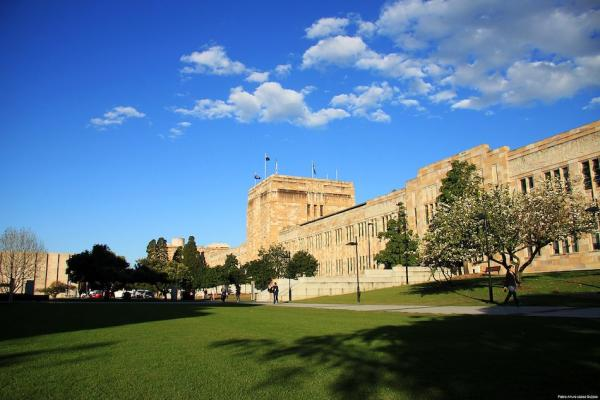 L'université du Queensland abrite également l'Institut Confucius et a plus de «collaborations (….) avec la Chine que toute autre université dans le monde». (Image : wikimedia /palg1305 / CC BY-SA)