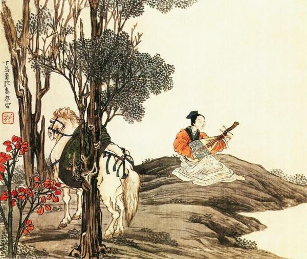 La pipa, ou luth chinois est un instrument traditionnel chinois. Un général chinois nommé Zhuge Liang a vaincu une armée de 150 000 hommes en l'utilisant un luth. (Image : Wikimedia / CC-PD-Mark)