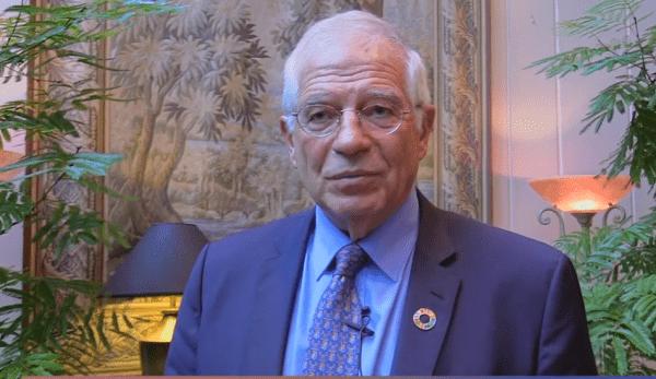 Josep Borrell, le responsable des affaires étrangères de l'UE, estime que l'Europe a fait preuve de naïveté lorsqu'il s'est agi de traiter avec la Chine, en la poussant vers un nouvel ordre mondial. (Image : Capture d'écran /YouTube)